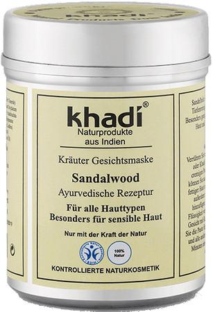 Khadi Gesichtsmaske Sandalwood 50g – Bild 1