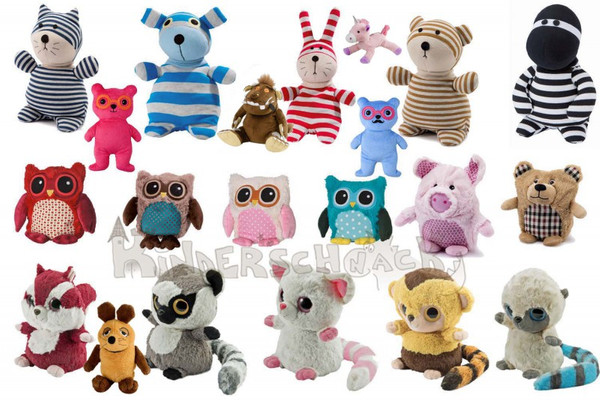 Warmies Greenlife Value YooHoo & Friends Hooty Friends Bär Yoohoo Roodee Hund blau/grau 001