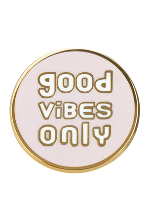 "likalla Pin ""GOOD VIBES ONLY"""