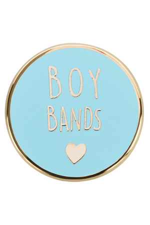"likalla Pin ""BOY BANDS <3"""