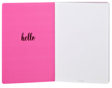 Notizhefte Set pink (daily reminder...) und hellrosa (Oh yes,...) – Bild 8