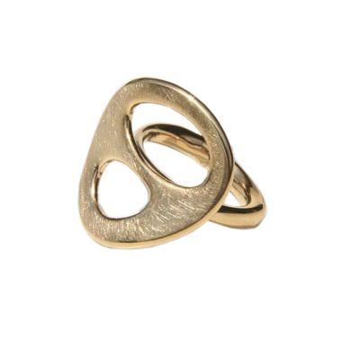 Fossil Damen Ring goldfarben JF83709