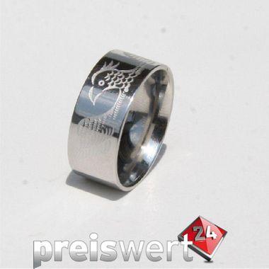 Trias Edelstahl Ring R157 Gr.64