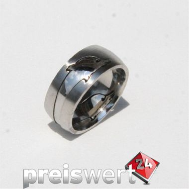 Trias Edelstahl Ring R177 Gr.54