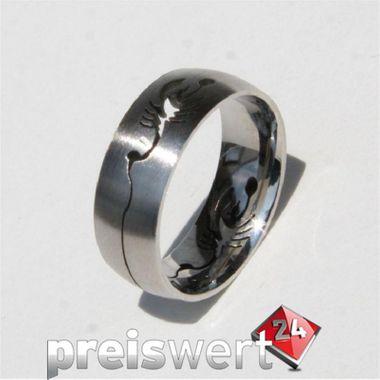 Trias Edelstahl Ring R172 Gr.58