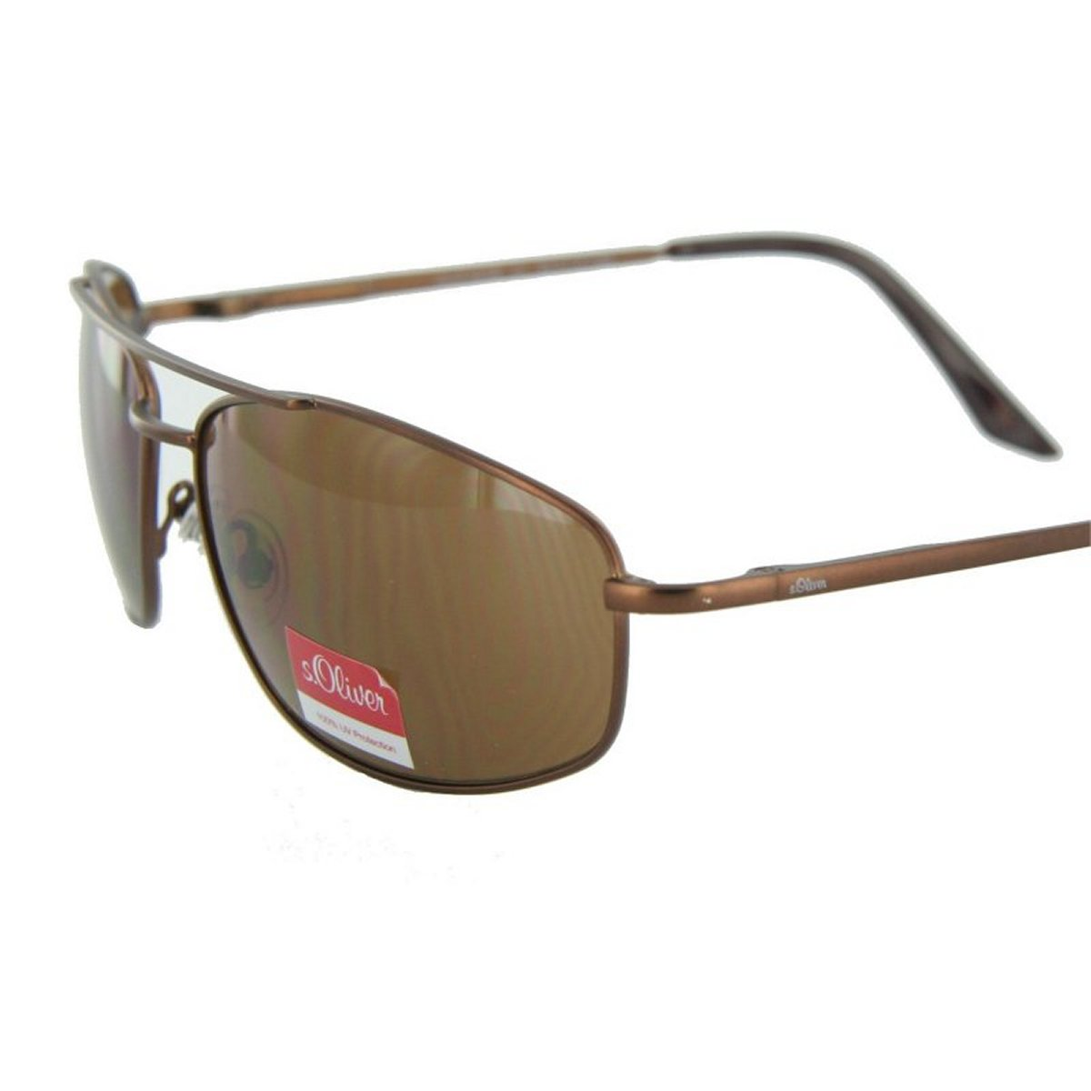 S.oliver Sonnenbrille 4214 C3 Light Gun Mat Etui Neu Damen-accessoires