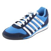 K-Swiss Whitburn 02951-420-M, Herren Sneaker, Blau (Brilliant Blue/Navy), 41 EU / 7 UK