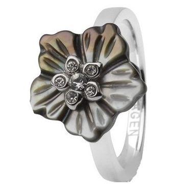Skagen Damen Ring Silber JRSB023, Ringgröße:52 (16.6) SS6 M2