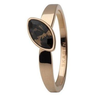 Skagen Damen Ring Kupfer JRSR034, Ringgröße:52 (16.6) SS6 M38
