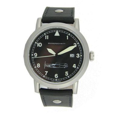 Aristo Herren Messerschmitt Uhr Fliegeruhr Edelstahl ME 109 109-L