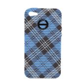 Hip Hop Cover Handyhülle Iphone 5 Tartan HCV0080 dundee blue 001