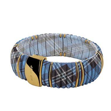 Hip Hop Damen Armband Armreif Silikon Kint HJ0141 dundee blue