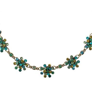 Konplott Halskette Collier Magic Fireball multi / grün