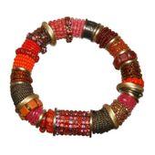 Konplott Armband Armreif Beduin rot / gold