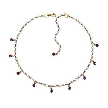 Konplott Kette Collier Tutui Collection lila amethyst silber
