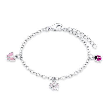 Prinzessin Lillifee Kinder Kids Armband Bettel-Armband Silber PLFS/50 - 9082414