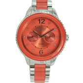 Esprit Damen Uhr Marin Lucent Speed Coral ES106202005