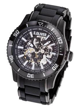 s.Oliver Herren Uhr Armbanduhr SO-2855-AM