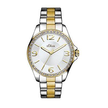 s.Oliver Damen Uhr Armbanduhr SO-3058-MQ