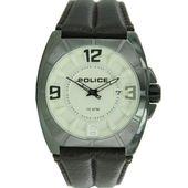Police Herren Uhr Armbanduhr Leder Analog 14193JSU/07