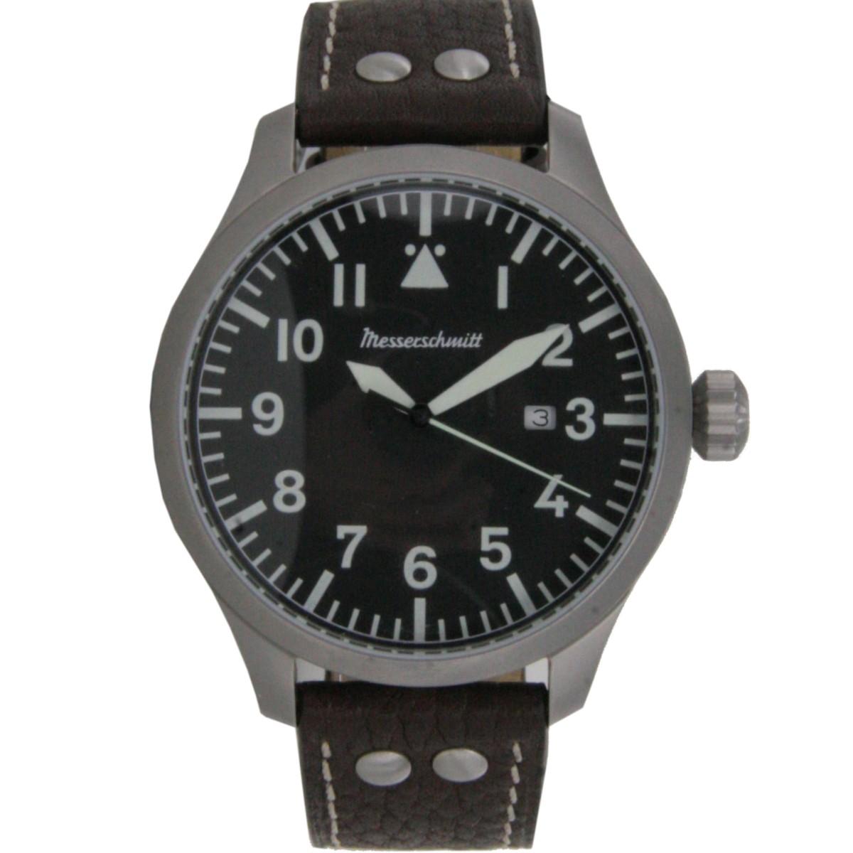 Aristo Herren Uhr 47xlb Xl Fliegeruhr Beo Me Messerschmitt 6bfgy7