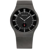 Bering Herren Uhr Armbanduhr Slim Radio Control - 51940-077 Meshband