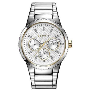 Esprit Damen Uhr Armbanduhr Beckie Edelstahl ES108642001