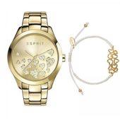 Esprit Damen Uhr Armbanduhr Esmee Edelstahl gold ES107282005