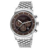 Esprit Herren Uhr Armbanduhr Woodward Edelstahl Chrono ES106851005