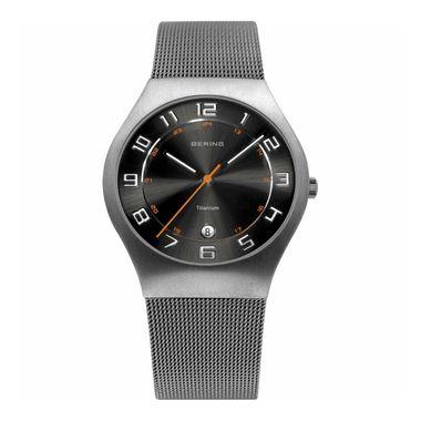 Bering Herren Uhr Armbanduhr Slim Classic - 11937-007 Meshband