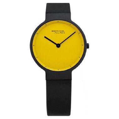 Bering Damen Uhr Armbanduhr Max René UltraSlim - 12631-827 schwarz