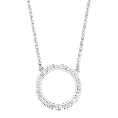 s.Oliver Jewel Damen Kette Collier Silber Zyrkonia Infinity 2012496