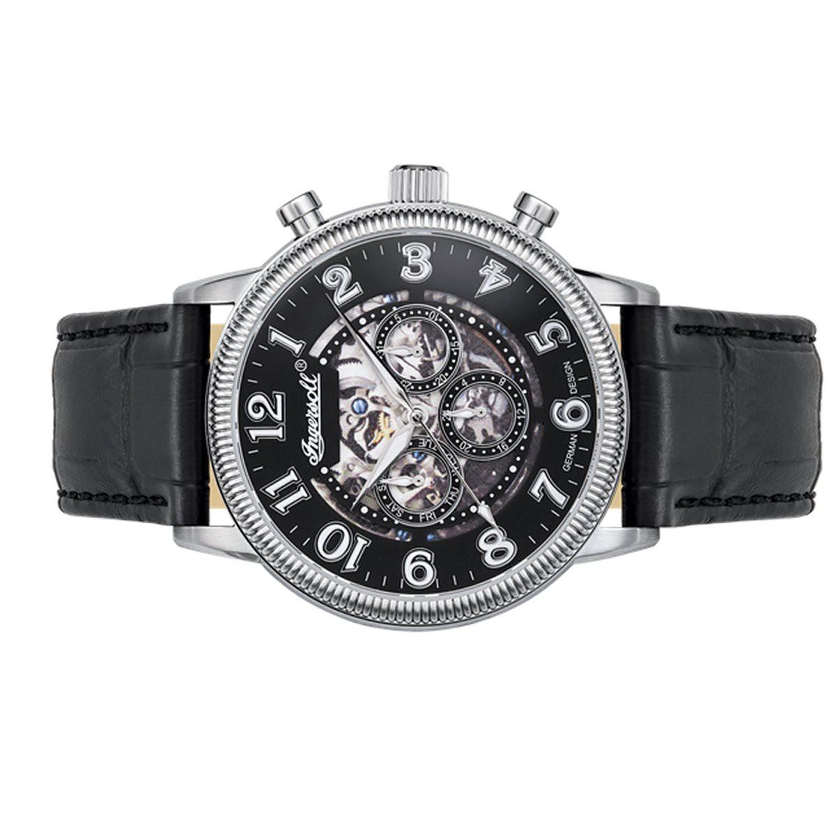 ingersoll herren uhr armbanduhr automatik tipico in7218bk. Black Bedroom Furniture Sets. Home Design Ideas