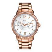 Esprit Damen Uhr Armbanduhr Kate Edelstahl Roségold ES108092003