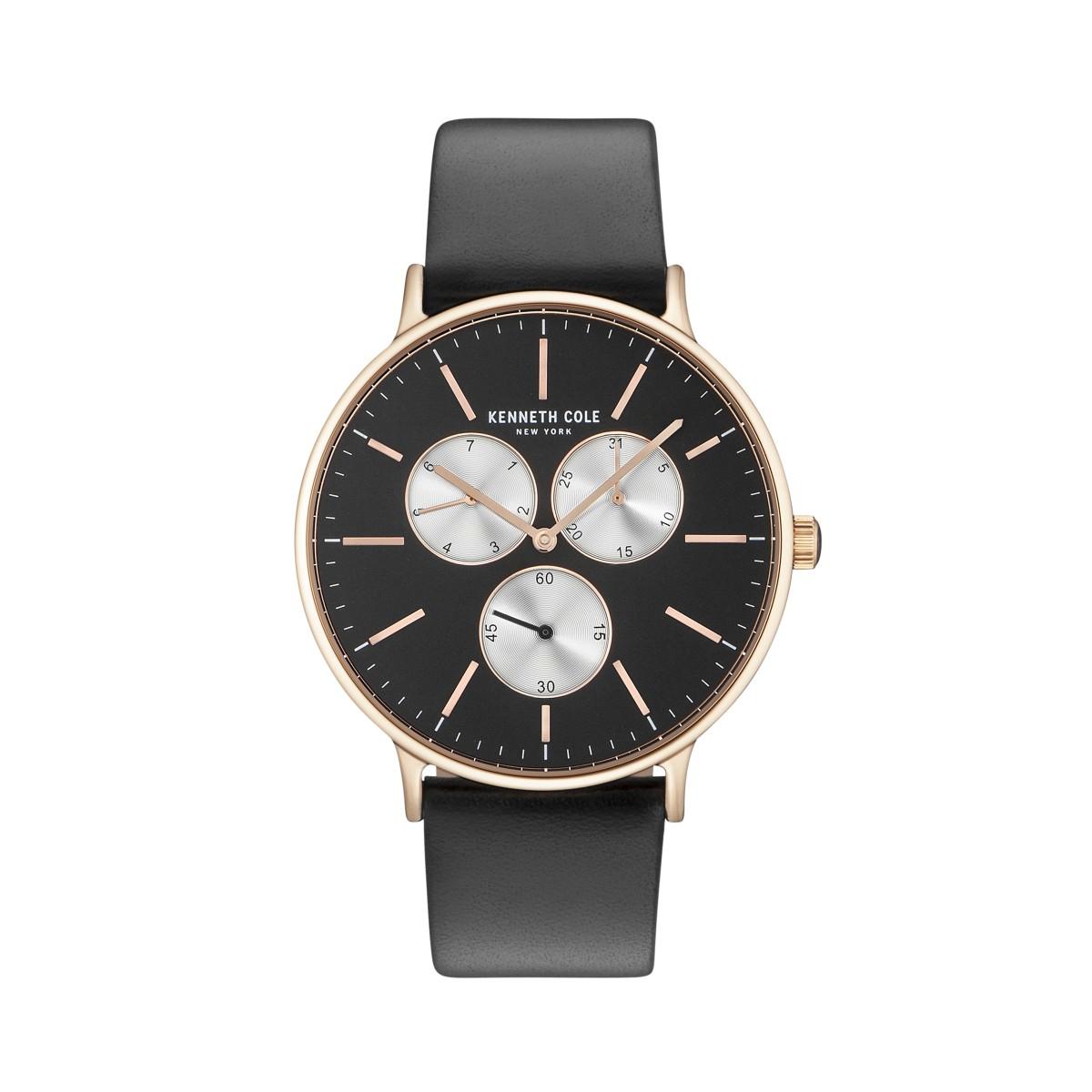 York Herren Zu New Leder Cole Kenneth Uhr Armbanduhr Details Kc14946006 OPw80XNnkZ