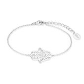 s.Oliver Jewel Damen Armband Silber SO PURE Hamsa Hand 2017215