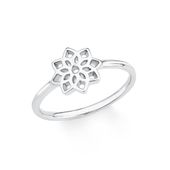 s.Oliver Jewel Damen Ring Silber Zirkonia weiss SO PURE Blume 201722