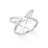 s.Oliver Jewel Damen Ring Silber Zirkonia X 201878