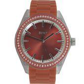 Esprit Damen Uhr Armbanduhr Play Winter rot Silikon ES900692007