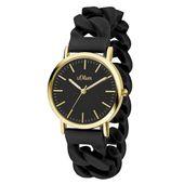 s.Oliver Damen Uhr Armbanduhr Silikon SO-3425-PQ