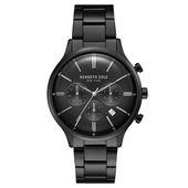 Kenneth Cole New York Herren-Armbanduhr Analog Quarz Edelstahl KC15177003