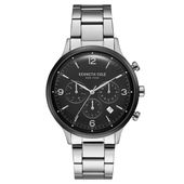 Kenneth Cole New York Herren-Armbanduhr Analog Quarz Edelstahl KC15177004