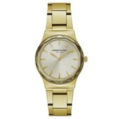 Kenneth Cole New York Damen-Armbanduhr Analog Quarz Edelstahl KC50059001
