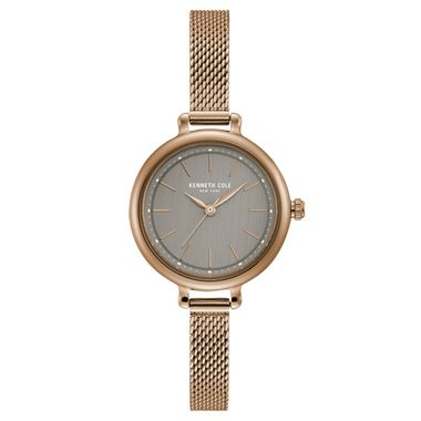Kenneth Cole New York Damen-Armbanduhr Analog Quarz Edelstahl KC50065006