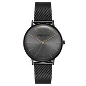 Kenneth Cole New York Herren-Armbanduhr Analog Quarz Edelstahl KC15183004