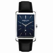 Kenneth Cole New York Herren-Armbanduhr Analog Quarz Leder 10030830