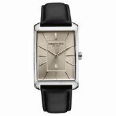 Kenneth Cole New York Herren-Armbanduhr Analog Quarz Leder 10030832
