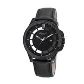Kenneth Cole New York Herren-Armbanduhr Analog Quarz Leder 10029297