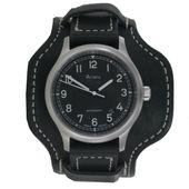 Aristo Herren Uhr Armbanduhr Automatic Old School 3H155 Leder