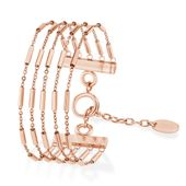 s.Oliver Jewel Damen Armband Edelstahl IP ROSE Zirkonia 2021075